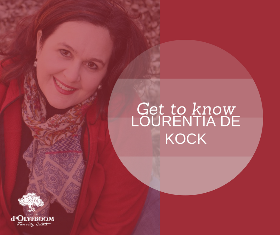 Get to know: Lourentia de Kock